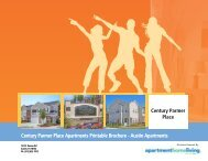 Century Parmer Place Apartments Printable ... - Apartments For Rent