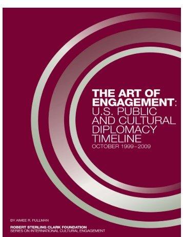 U.S. Public and Cultural Diplomacy Timeline - Robert Sterling Clark ...