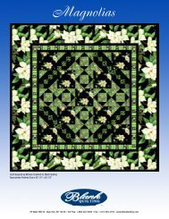Magnolias - Mississippi Quilt Association