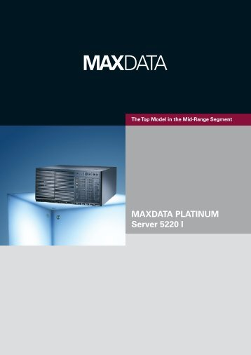 MAXDATA PLATINUM Server 5220 I