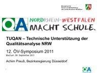 TUQAN – Technische Unterstützung Qualitätsanalyse NRW - Oev ...