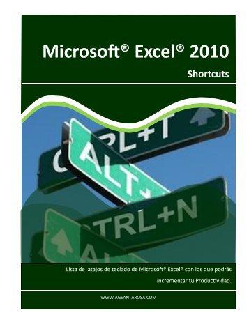 Microsoft® Excel® 2010