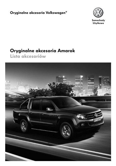 Oryginalne akcesoria Amarok Lista akcesoriów - besmarex.pl