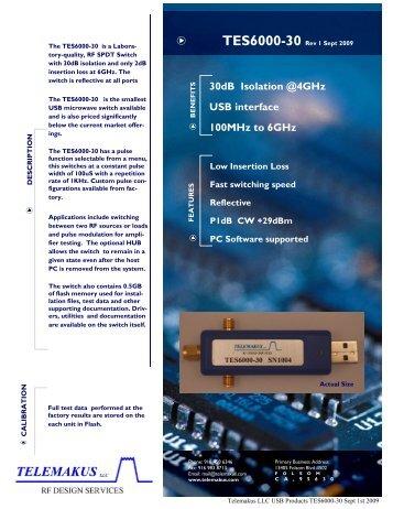TES6000-30 - RfMW