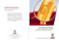 Certification Global brochure - Bureau Veritas