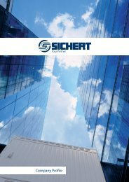 Company Profile - SICHERT