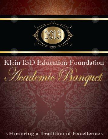 Education Foundation - Klein Independent School District