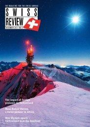 Download PDF Swiss Review 6/2013 High ... - Schweizer Revue
