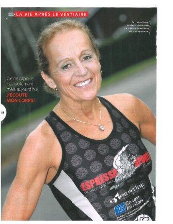 Résumé de Jacqueline Gareau en PDF - Espresso Sports