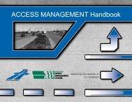 Access Management Handbook - Center for Transportation ...