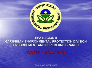 EPA Emergency Responses and Removal Actions