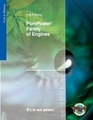 PurePower® Family of Engines - Pratt & Whitney