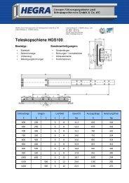 HGS100 Deutsch_a - Hegra Linear GmbH