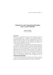 Medical Fees and Compositional Principles in the Avestan Vīdēvdād