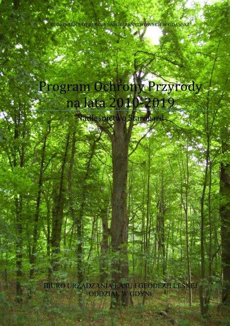 Program Ochrony Przyrody na lata 2010-2019 - Państwowe ...