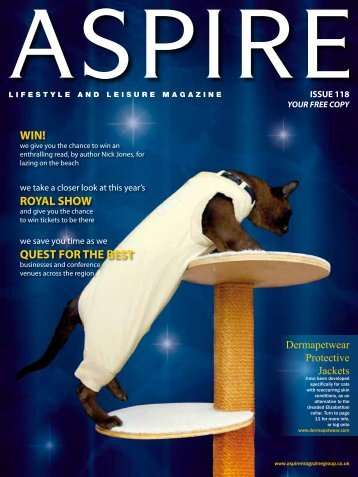 WIN! ROYAL SHOW QUEST FOR THE BEST - Aspire Magazine
