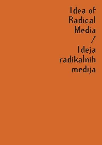Medak_Tomislav_Milat_Petar_eds_Idea_of_Radical_Media
