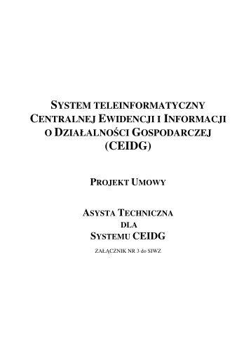 pobierz plik pdf - Biuletyn Informacji Publicznej   BIP - Ministerstwo ...