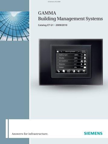 Catalog ET G1 2009 EN - Siemens