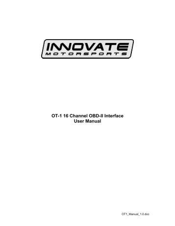 Isuzu OBD II diagnostic interface pinout