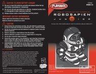 RoboSapien Jr. - RobotsAndComputers.com