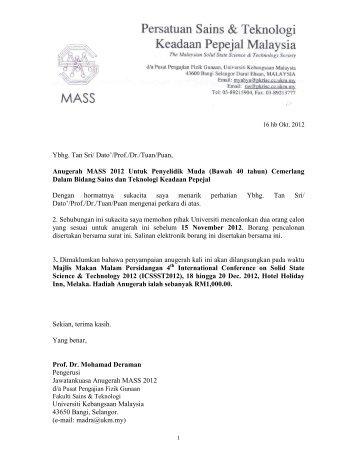 Ketua Jabatan Fizik - Sistem e-Warga - Universiti Kebangsaan ...