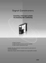 Signal Conditioners - M-System