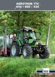 AGROTRON TTV 410 • 420 • 430 - Deutz-Fahr
