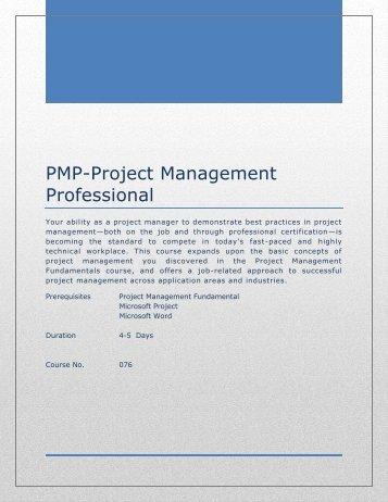 PMP-Project Management Professional