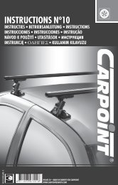 09.840.10 • MADE IN EUROPE FOR CARPOINT WWW ... - Winparts.nl