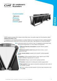 Air condensers Drycoolers - Euroconfort