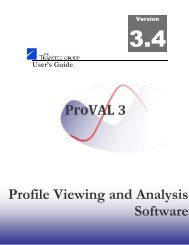 User's Guide - ProVAL