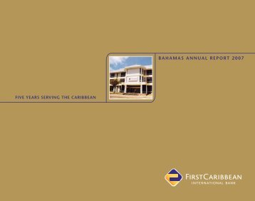 Bahamas - FirstCaribbean International Bank