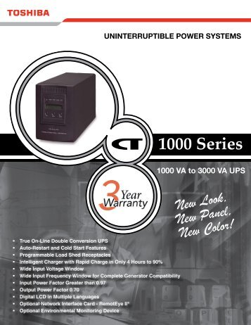 1000 Series 1-3kVA - Tnsups.com