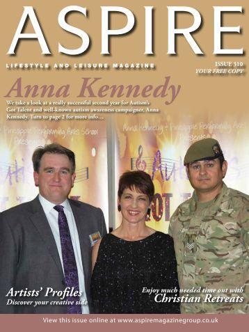 Artists' Profiles - Aspire Magazine