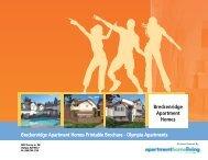 Breckenridge Apartment Homes Printable Brochure - Olympia ...