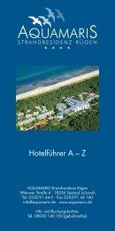 Informationen für Ferienwohnungsgäste - Aquamaris ...
