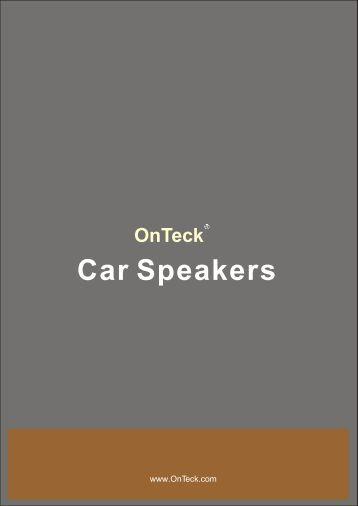 CAR Speaker 2008+ ²Ý¸å.cdr - OnTeck
