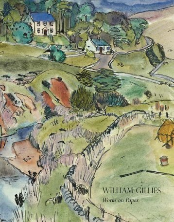 WILLIAM GILLIES Works on Paper - The Scottish Gallery