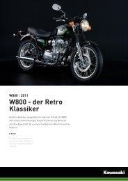 W800 - der Retro Klassiker