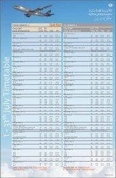 49354 - Royal Jordanian - Branded JULY 2013 Timetable