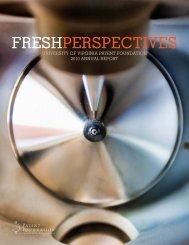 2010 Annual Report (PDF) - U.Va. Innovation - University of Virginia