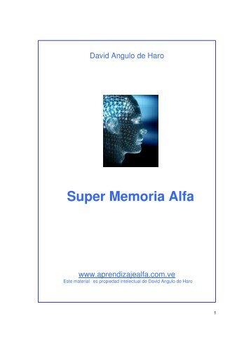Super Memoria Alfa - Super Aprendizaje Alfa