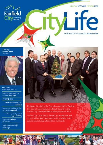 The Mayor Nick Lalich, the Councillors and staff ... - NSW Government