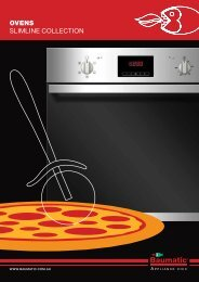 OVENS SLIMLINE COLLECTION - Baumatic