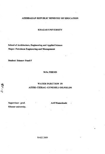 Fuad Islamov.pdf - DSpace at Khazar University
