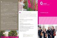 Kammermusik - Hochschule für Musik, Theater und Medien Hannover