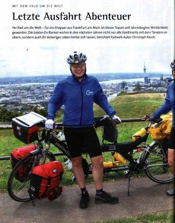 ADFC Radwelt 1/07 - Vom Banker zum Biker