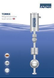 Download a datasheet for the TORRIX Level Sensor here....