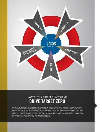Three Year Safety Strategy to Drive Target Zero - Bristow